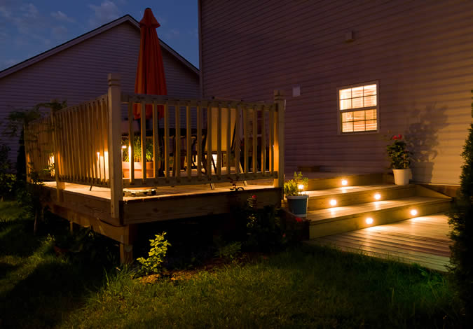 Deck Lighting Residential Installations